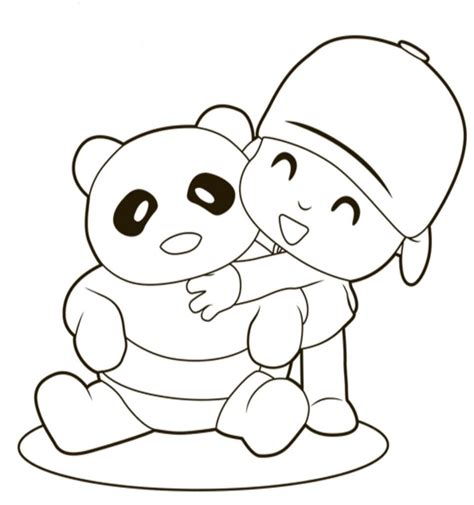 Pocoyo Páginas Para Colorear - Best Coloring Pages For Kids