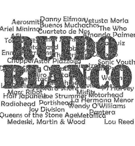 Podcast: Ruido Blanco presenta su ultimo programa del 2011 ...