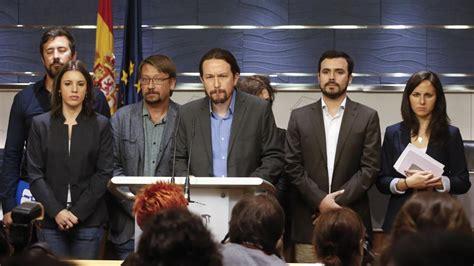 Podemos presentará una moción de censura contra Rajoy sin ...