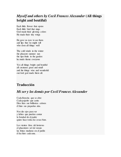 Poema en ingles