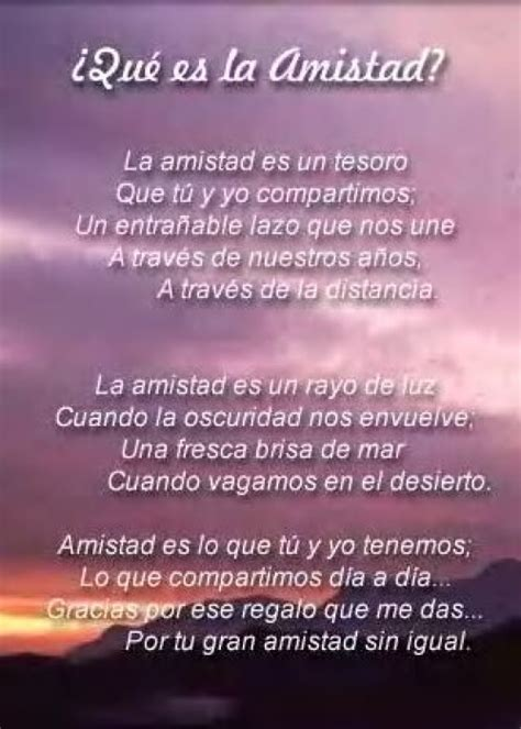Poemas Cortos de amistad para compartir | Poemas ...