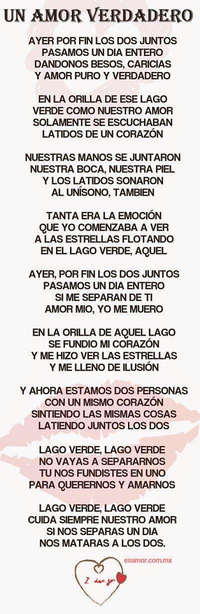 Poemas De Amor Y Amistad Poemas Largos De Amor Poemas ...