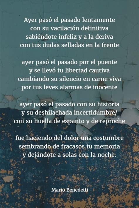 Poemas de MARIO BENEDETTI 【Versos, Biografía y Frases】