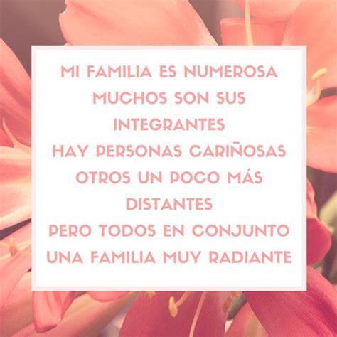 Poemas para la familia - Todo sobre las poesías de familia