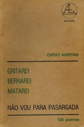 Poesia de Amor e de Luta, de Ovídio Martins   Esquina do Tempo