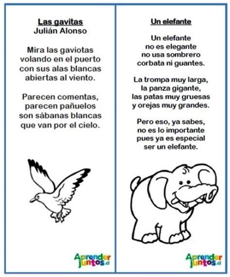 Poesías Para Disfrutar Del Lenguaje | Aprender Juntos