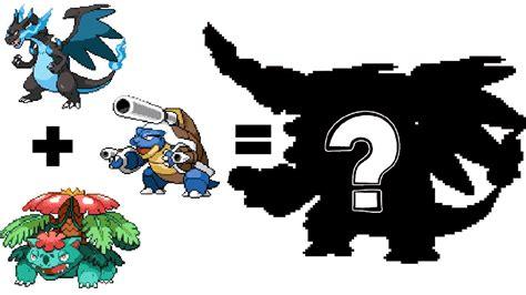 Pokemon Fusion Sprite: Request #54: Mega Charizard X Mega ...