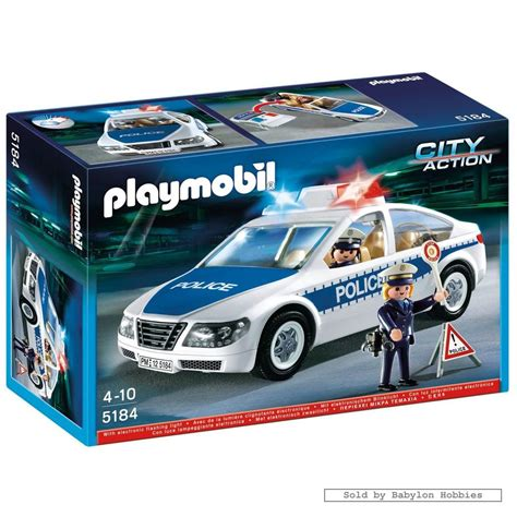 Police Car with Flashing Light  by Playmobil  5184
