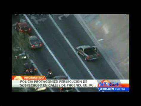 Policía realiza persecución a hombre acusado de robo en ...
