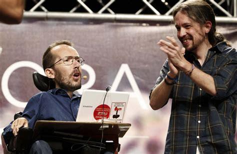 Política - Pablo Iglesias y Pablo Echenique, el viernes en ...