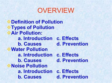 POLLUTION.   ppt video online download