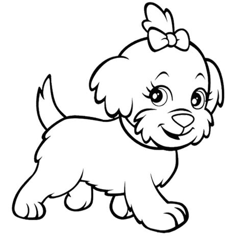 Polly Pocket Dog Funny Coloring Page | Kids Coloring Pages ...