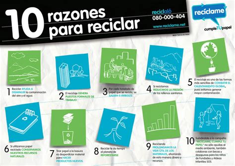 Póngame medio de ambiente: 10 razones para reciclar