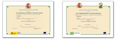 Poniente Formacion - Certificados Profesionalidad