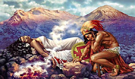 Popocatepetl and Iztaccihuatl: A Tragic Romance of Aztec ...
