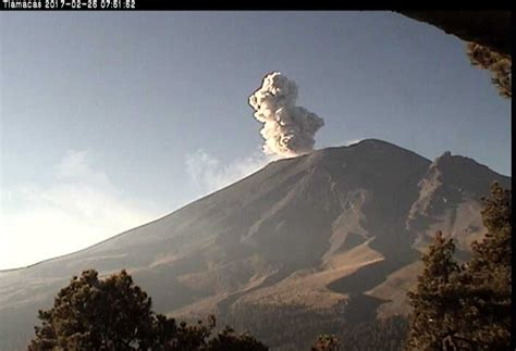 Popocatepetl volcano explodes again in Mexico video and ...
