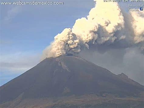Popocatepetl volcano in Mexico explodes 9 times in last 24 ...