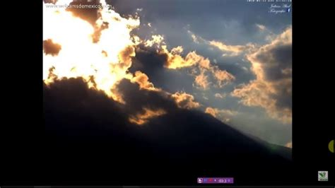 POPOCATEPETL VOLCANO IN MEXICO...SUNSET ERUPTION   YouTube