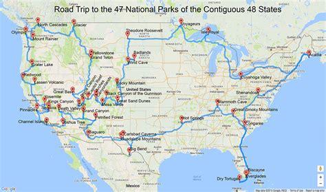 Popular 172 List map of us national parks