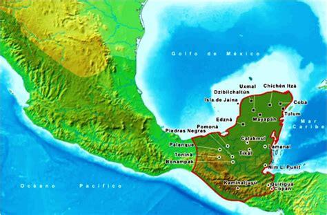 Por Donde Se Extendio La Civilizacion Maya | BLSE