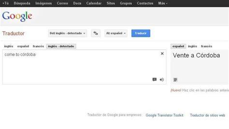 ¿Por qué el traductor de Google prefiera a Córdoba en ...