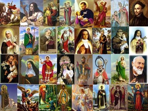 por que los catolicos adoran imagenes de santos y mártires