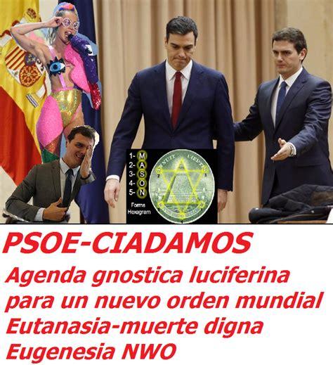 Por que no empiezas a replanteartelo todo?: Pacto PSOE-CIA ...