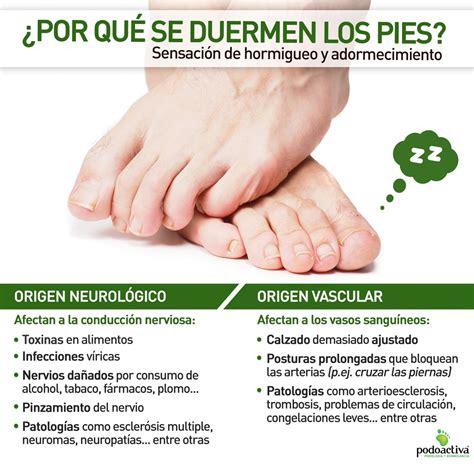 ¿Por qué se me duermen los pies? | Blog Podoactiva