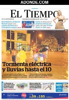 Portadas de diarios de Piura Perú - ADONDE.COM