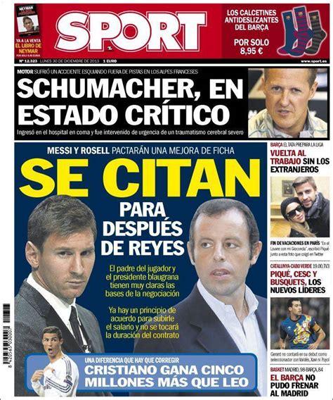 Portadas de los diarios deportivos   Foto 3 de 2 | Fórmula ...