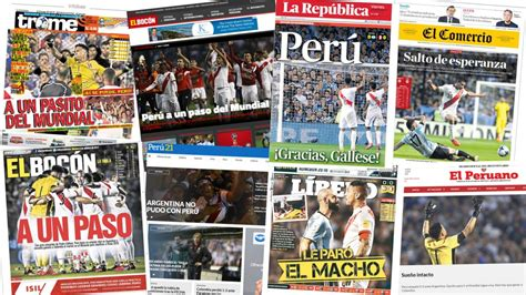 Portadas de Peru | El Mirador Online | Noticias de Mendoza ...