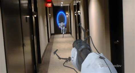 Portal On HoloLens Might Be The Coolest Use Of Mixed ...