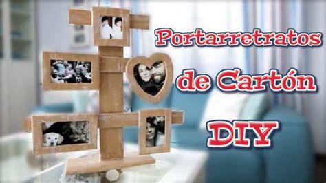 Portarretratos de cartón DIY estilo country | Manualidades ...