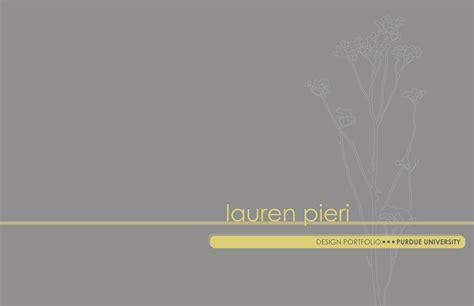 Portfolio Cover Page Design, Portfolio Cover Page Ideas ...