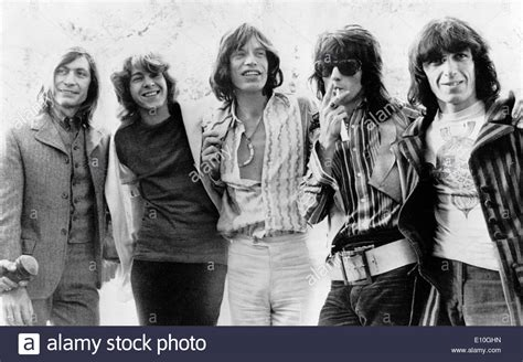 Portrait of the band the Rolling Stones Stock Photo ...