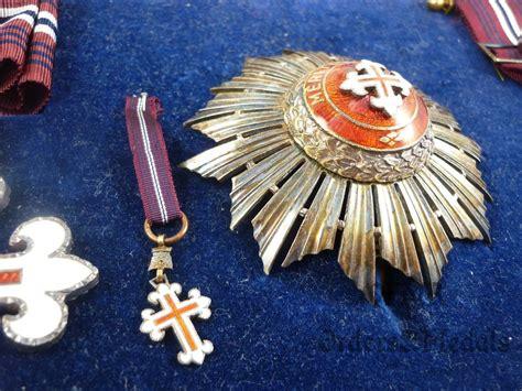 Portugal – Ordem de Mérito Militar 1ª Classe, com caixa
