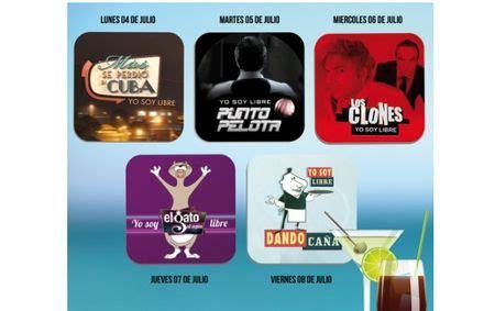 Posavasos de televisión gratis con el periódico La Gaceta