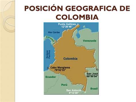 POSICIÓN GEOGRÁFICA DE COLOMBIA - ppt video online descargar