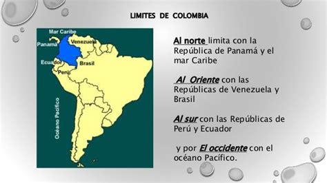 Posición geográfica y astronómica de colombia