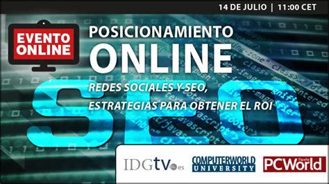 Posicionamiento Online. Redes Sociales y SEO | Webinars ...