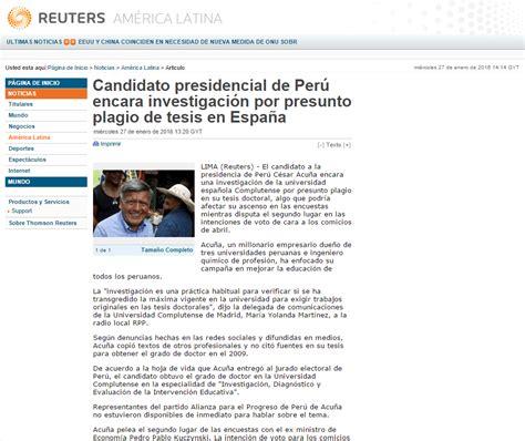 Post: El escándalo de los plagios en tesis doctoral de ...