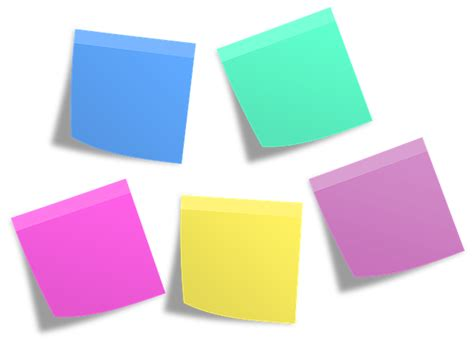 Post It Memos Notes · Free image on Pixabay