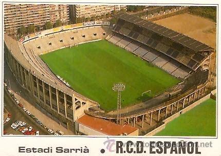 postal campo de futbol estadio sarria r.c.d. es   Comprar ...