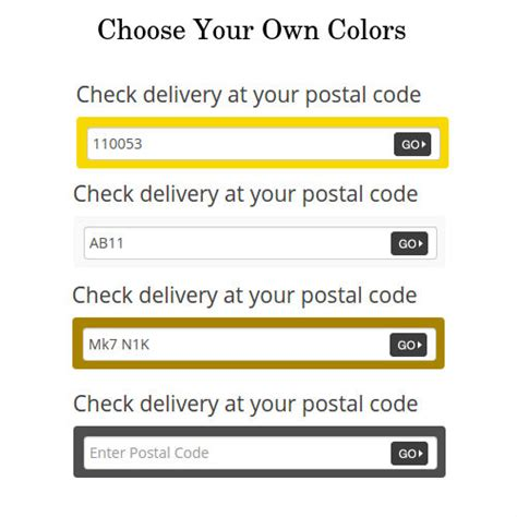 Postal Code Lookup