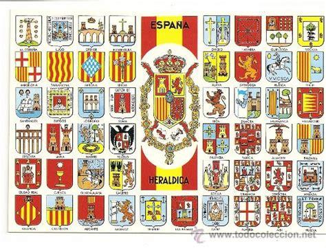 postal de escudos de españa antiguos.   Comprar en ...