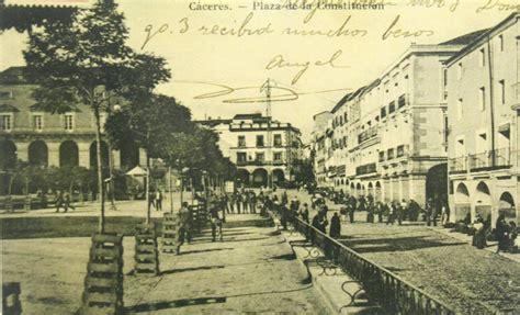 Postales antiguas de la Plaza Mayor   Hoy.es. Foto 6 de 7