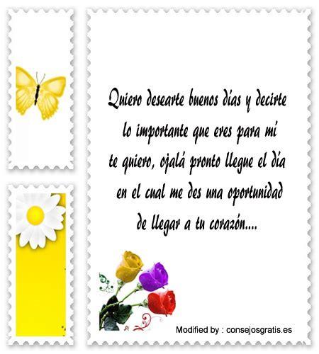 Postales Y Frases De Buenos Dias Para Enamorar | Mensajes ...