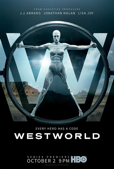 Poster For HBO s Westworld   blackfilm.com/read ...