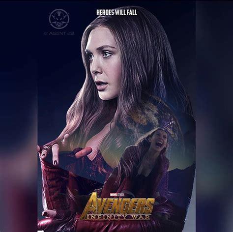 poster-vengadores-infinity-war-bruja-escarlata - CINE Matrix