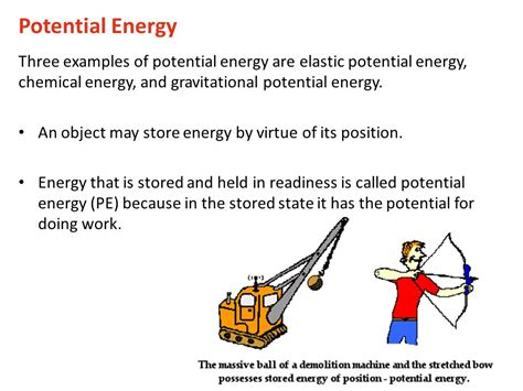 Potential and Kinetic Energy Notes - ppt video online download